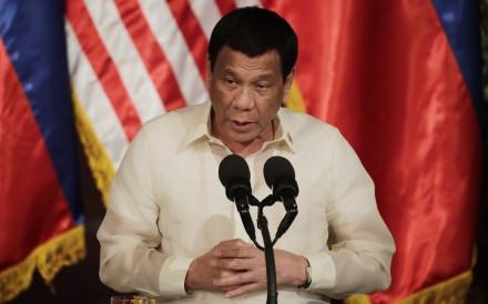 Philippine President Rodrigo Duterte. Photo: EPA-EFE