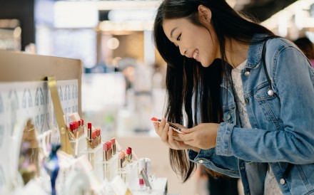 Up to 91 per cent of China's younger consumers look online for deals using their mobile phones, but three-quarters of them also say they think a bricks-and-mortar store offers a better shopping experience.