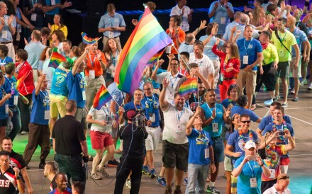The Gay Games is a worldwide sport and cultural event that promotes sexual diversity. Photo: Alamy