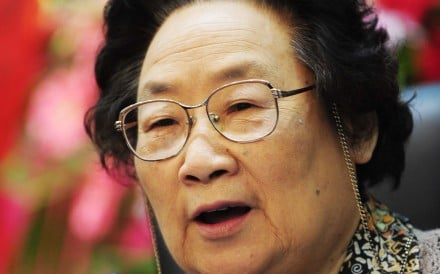 Tu Youyou was the first Chinese woman to win a Nobel Prize for medicine. Photo: AFP