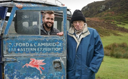 Tim Slessor drove from London to Singapore in 1955, and now will be doing the same journey in reverse with Alex Bescoby, despite the 56 year age gap. Photo: Nicholas Enston / Grammar Productions