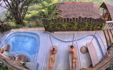 Visitors can relax in the luxurious setting of Luljetta's Hanging Gardens Spa in Antipolo, in the Philippines. Photos: Klook