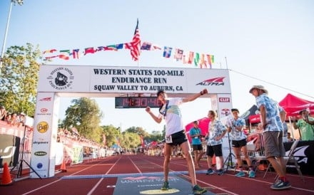 Jim Walmsley sets the Western States record in 2018. Winning it again in 2019 and breaking his own record cements his place in the race's history. Photo: Hoka One One