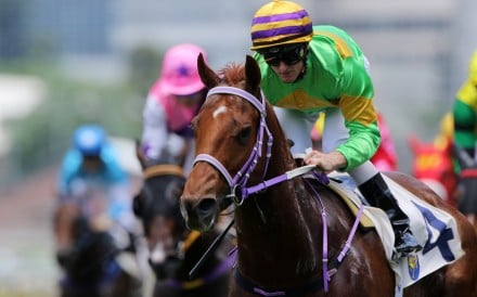 Zac Purton guides Classic Unicorn to victory at Sha Tin in June. Photos: Kenneth Chan