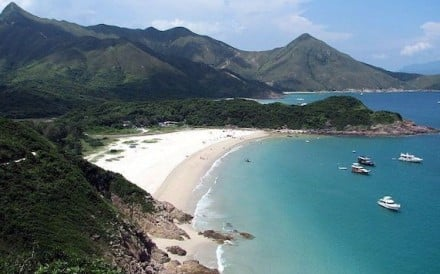 Ham Tin beach in Sai Kung is known for some of the clearest waters in Hong Kong. Photo: Wikimedia Commons / Chingleung