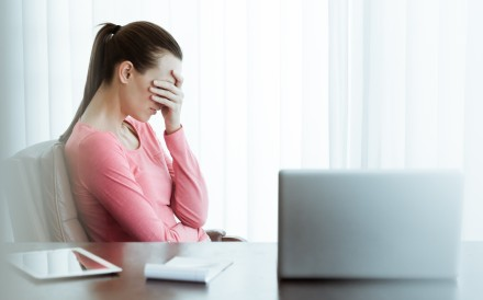Work-related stress affects different people in different ways, but can lead to burnout if the warning signs are not heeded. Photo: Shutterstock