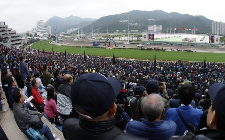 Punters watch racing at Sha Tin. Photo: Kenneth Chan
