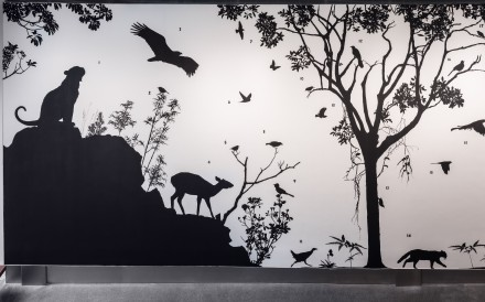 To See The Forest by James Prosek on display at the Asia Society Hong Kong. Photo: courtesy of James Prosek
