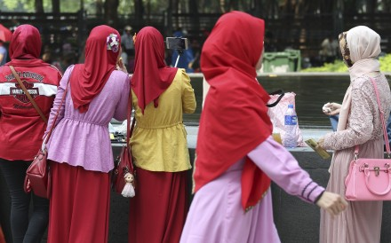 Indonesian women face frequent sexual harassment in public spaces, including in the street and on public transport. Photo: SCMP