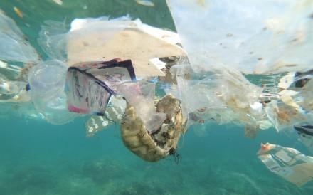 Debris and plastic litter found off Christmas Island, Australia. Photo: Reuters