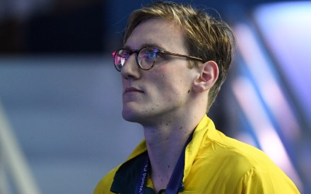 Australia's Mack Horton's feud with China's Sun Yang added another chapter to its story yesterday as the two Olympic gold medalists traded barbs after Horton refused to take the podium with his counterpart. Photo: AFP