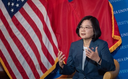 Taiwanese President Tsai Ing-wen says her two stopovers in the United States gave her ample chance to meet a range of dignitaries. Photo: EPA