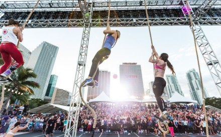 The rope climb will be the least of the worries for athletes at the 2019 CrossFit Games as we can expect some wacky events. Photo: Wodapalooza