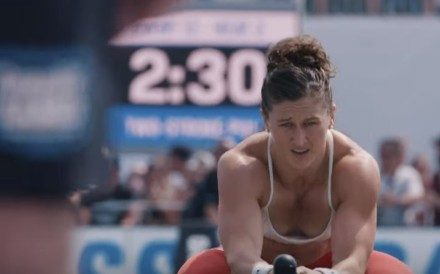 Tia-Clair Toomey, in the 2019 CrossFit Games promotional video, is in the hunt after day one. Photo: CrossFit Games
