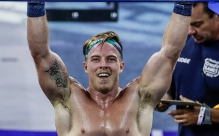 Noah Ohlsen is leading the CrossFit Games after day two, but can he hold off Mat Fraser? Photo: CrossFit Inc.