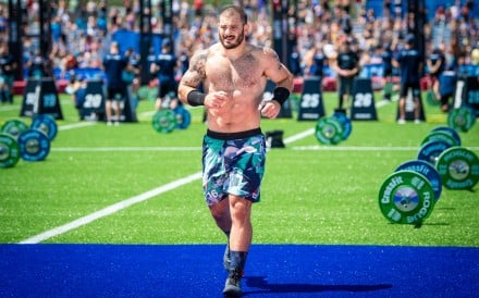 Mat Fraser, 2019's 'Fittest on Earth' champion at the CrossFit Games. Photo: Michael Valentin