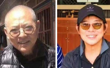 Jet Li in 2018 (left) and recently in 2019. Photo: Facebook/Instagram