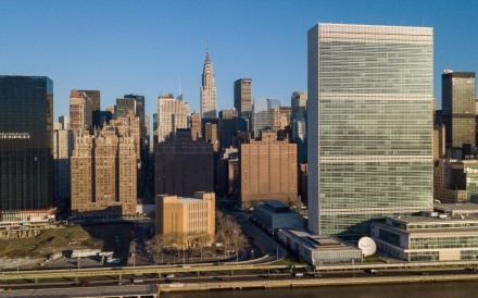 Chinese investors were fooled by a company that claimed the United Nations was relocating its headquarters from Manhattan to a new, much larger site in the city of Xian in northwestern China. Photo: Alamy