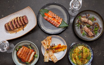 Contrasting tastes and textures are paired on the Madame Ching x TokyoLima collaboration menu, one of the eating highlights of Hong Kong's dining scene this month