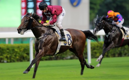 Paul O'Sullivan's Cool Team takes out the last race at Sha Tin on Sunday. Photos: Kenneth Chan