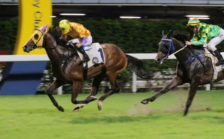 Doctor Geoff wins at Happy Valley last season. Photos: Kenneth Chan