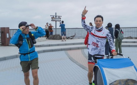 Wong Ho-fai is running the length of Japan. He needs faith in destiny, as things inevitably go wrong. Photo: Handout