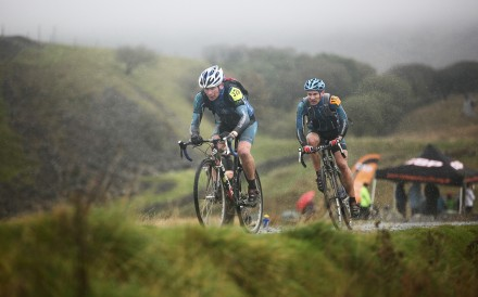 The Three Peaks cycle cross is a grass roots event in Yorkshire, Northern England. Photos: Steve Thomas