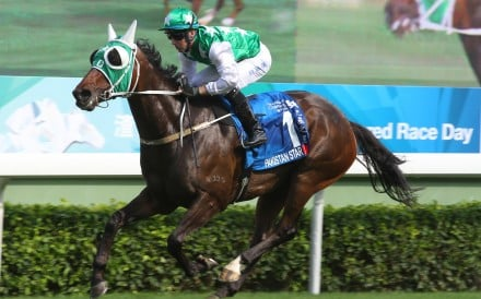 Pakistan Star wins last year's Group One Champions & Chater Cup. Photos: Kenneth Chan