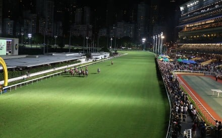Horses race at Happy Valley. Photos: Kenneth Chan