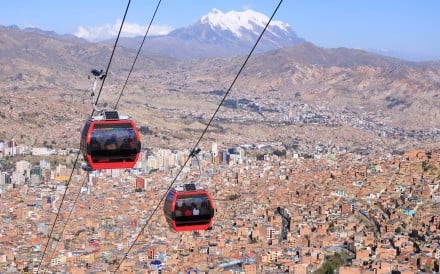 La Paz, Bolivia: the world's highest capital. Photo: Shutterstock
