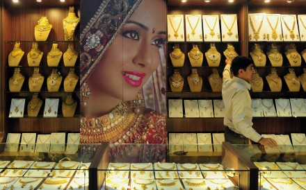 The surge in gold prices has had a noticeable effect on Indian consumer demand, which has since gone into free fall. Photo: AFP