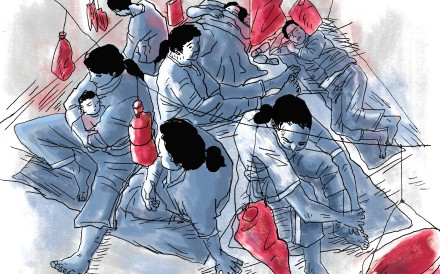The number of women locked up in Cambodia's prisons has been described as alarming. Illustration: Brian Wang