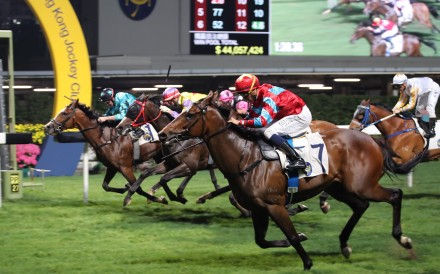 A race meeting at Happy Valley was cancelled at the last minute on Wednesday out of safety concerns. Photo: Kenneth Chan