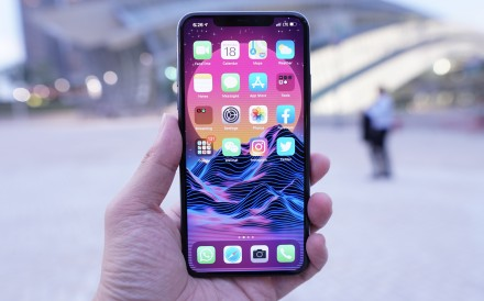 The iPhone 11 Pro Max has two firsts for Apple: a battery that can cope with a day of heavy use without going flat, and a new three-lens camera system. Photo: Ben Sin