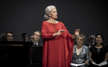 Adapted from Ingmar Bergman's classic 1978 film, Autumn Sonata is a two-act work commissioned by the Finnish National Opera and will be staged in Hong Kong by Sweden's Malmö Opera. Photo: Jonas Persson
