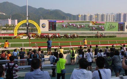 Beauty Generation wins the Group Three Celebration Cup at Sha Tin on Tuesday. Photos: Kenneth Chan