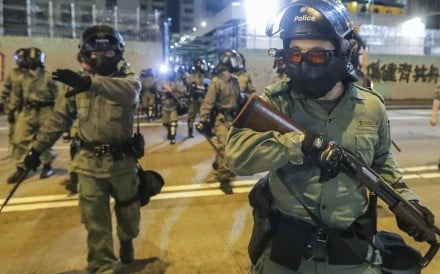 """The ambassador said France should support the Hong Kong police's efforts to counter protesters' """"odious attacks"""". Photo: Edmond So"""
