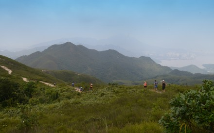 Pat Sin Leng ridge is on the Wilson Trail. The race over the entire trail this weekend has been cancelled. Photo: Handout