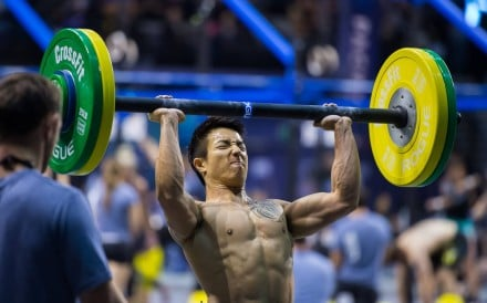 Athletes can get the barbell overhead however they chose, as long it's ground-to-overhead. Photo: Handout