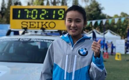 Natasha Wong Tsz-yan before the 2019 Hong Kong Marathon, but it was not until the Berlin Marathon in September that everything finally clicked. Photo: SCMP