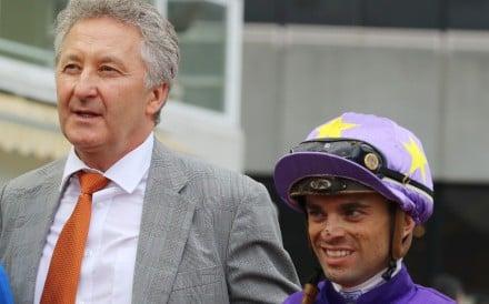 Umberto Rispoli and David Ferraris together after a winner last season. Photos: Kenneth Chan