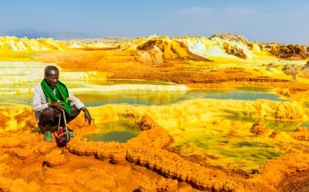 The Danakil Depression, in Ethiopia, is the hottest place on earth. Photo: Alamy