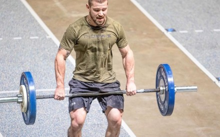Can Matt McLeod build off his impressive rookie debut at the CrossFit Games? Photo: Handout