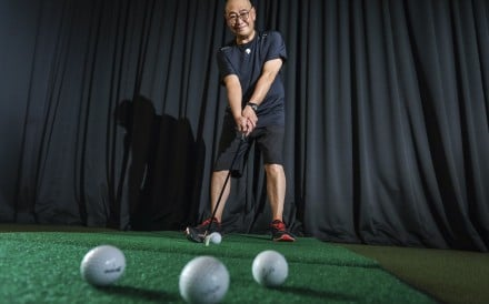 Richard Au plays golf and tennis regularly, as well as exercising and walking. Photo: May Tse