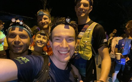 Post reporter Mark Agnew and his team at Moontrekker