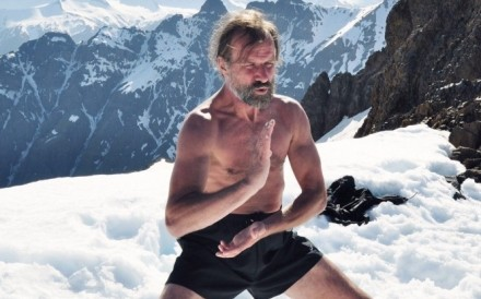 Health and wellness guru Wim Hof is known as 'The Iceman' for his record-breaking achievements in extreme conditions. Photo: Destination Deluxe