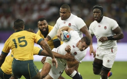 England crushed Australia in the quarter-finals, but can they stop the All Blacks? Photo: EPA