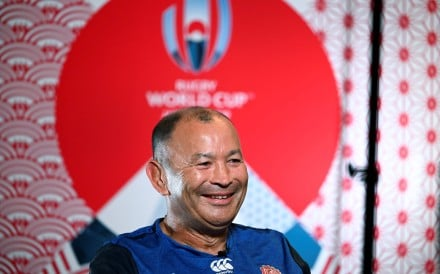 Master of words Eddie Jones. Photo: AFP