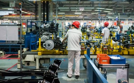 An assembly plant in the up-and-coming tech city of Chengdu, China. Photo: Shutterstock