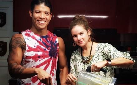 Bodybuilder Luke Tan and ultrarunner Emilie Tan